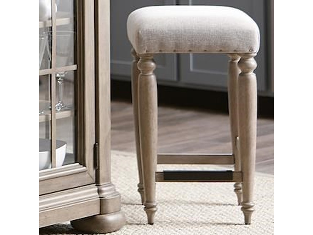 Trisha Yearwood Home Collection by Klaussner NashvilleDouglas Corner Counter Height Stool