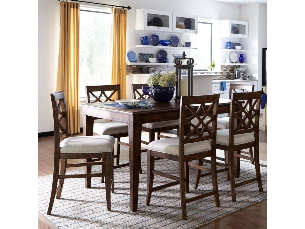 Trisha Yearwood Home Collection by Klaussner Trisha Yearwood Home6 PC Casual Dining Set