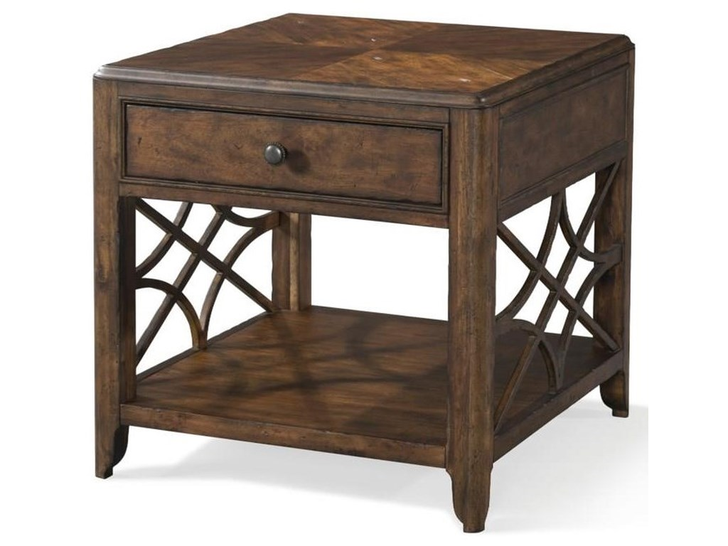 Trisha Yearwood Home Collection by Klaussner Trisha Yearwood HomeCocktail Table and End Table Set