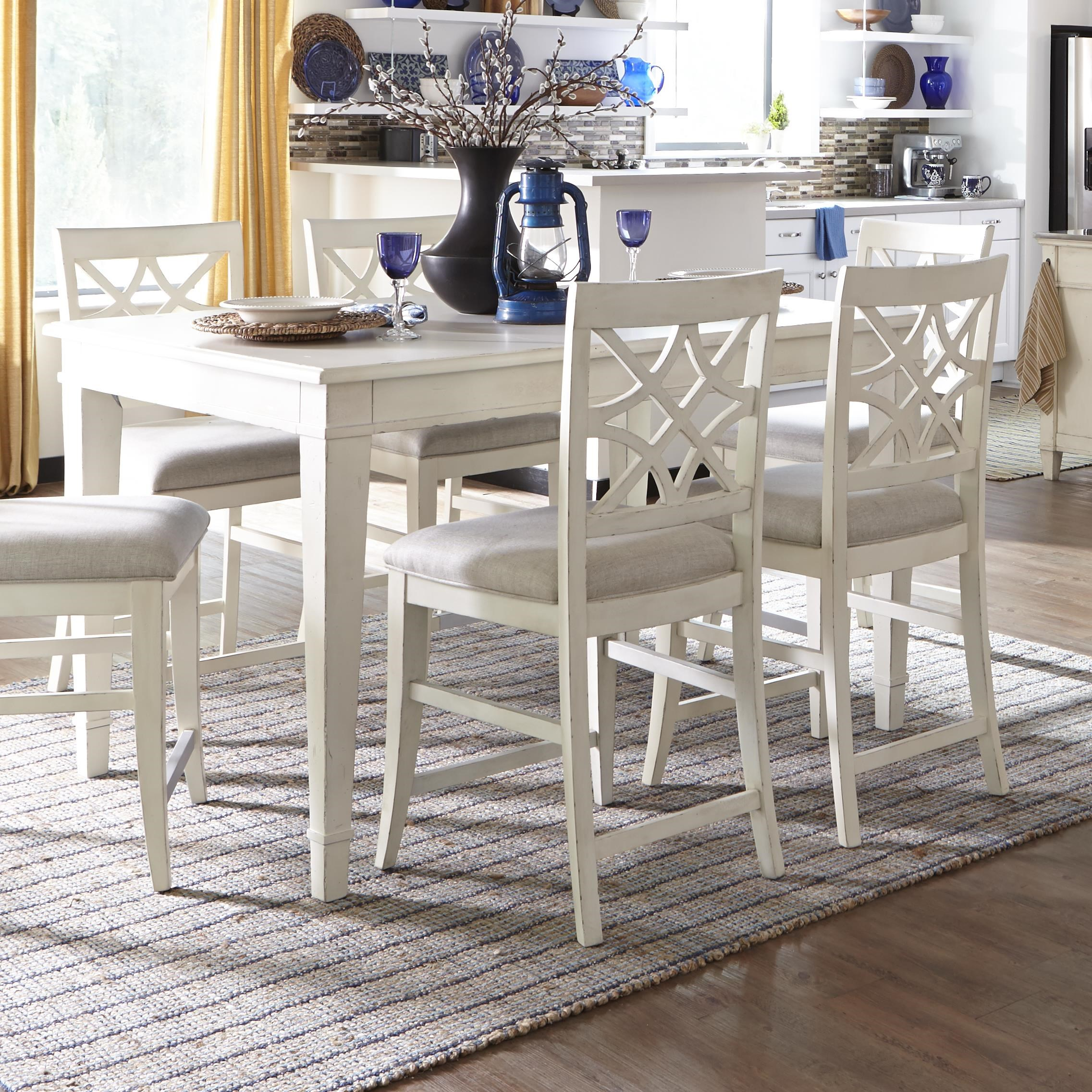 Trisha Yearwood Home Collection By Klaussner Trisha Yearwood Home Southern Kitchen  Counter Height Table With 18