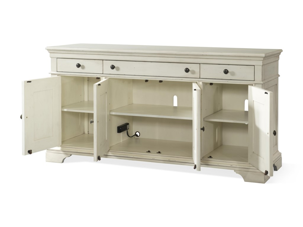 Trisha Yearwood Home Collection by Klaussner Trisha Yearwood HomePrizefighter Entertainment Console