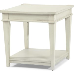 Trisha Yearwood Home Trisha Yearwood Home End Table With One Shelf Belfort Furniture End Tables