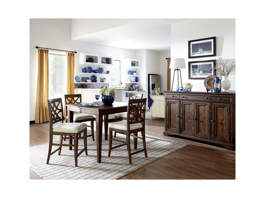 Klaussner Trisha Yearwood Home5 Piece Dining Package