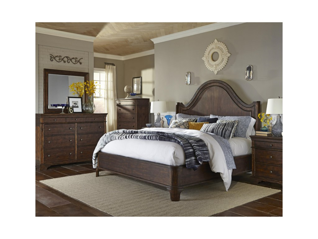 Trisha Yearwood Home Collection by Klaussner Trisha Yearwood HomePatricia Queen Shelter Bed