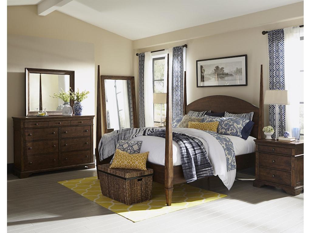 Trisha Yearwood Home Trisha Yearwood HomeJasper Complete Queen Poster Bed