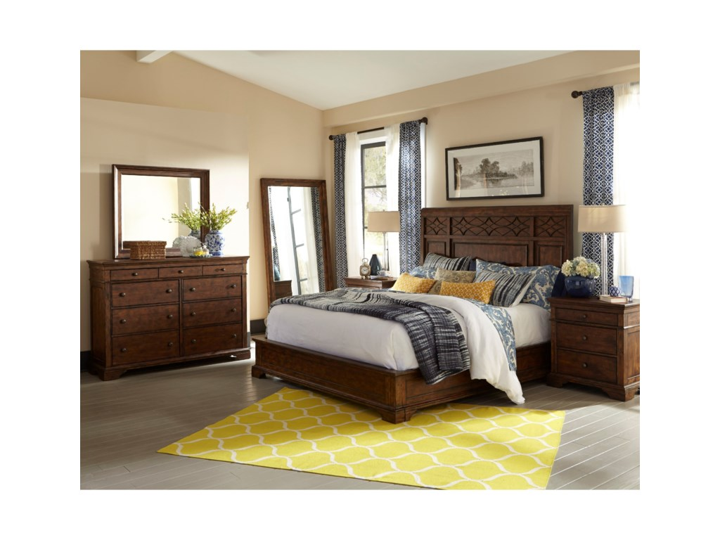 Trisha Yearwood Home Collection by Klaussner Trisha Yearwood HomeComplete Queen Panel Bed