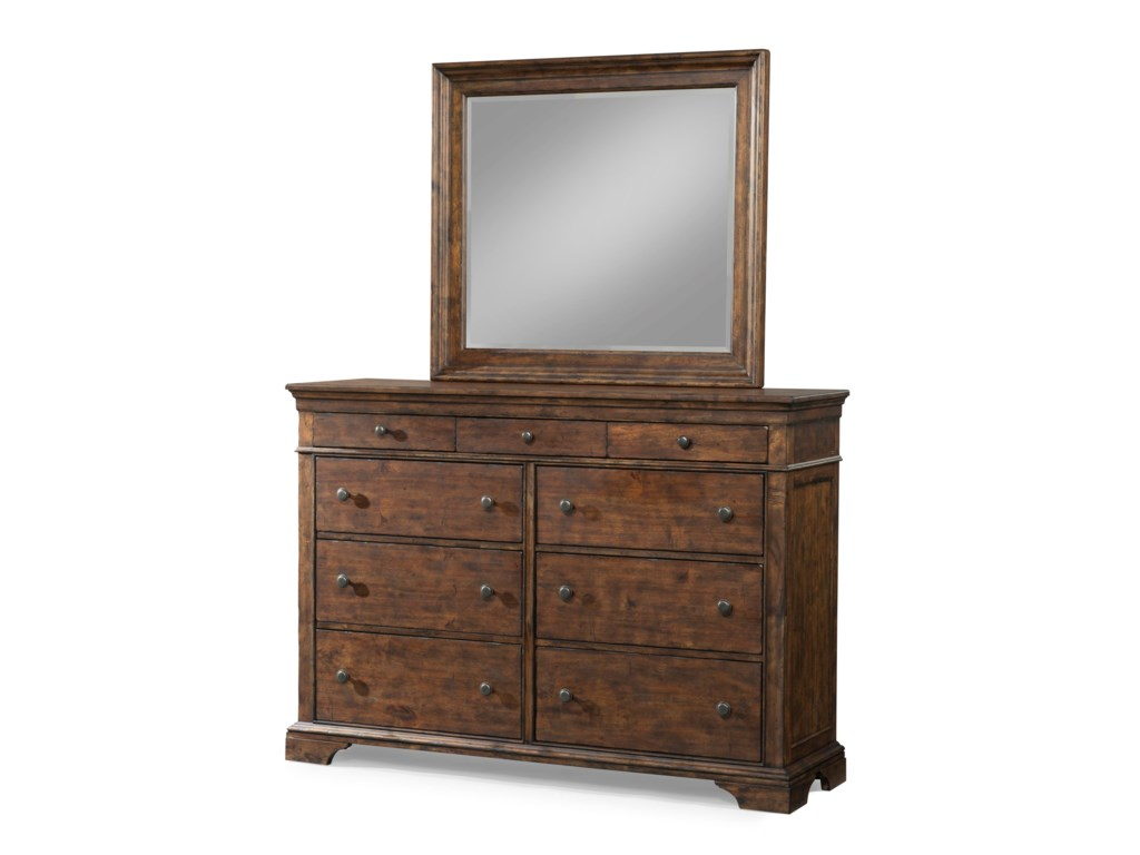 Trisha Yearwood Home Collection by Klaussner Trisha Yearwood HomeDresser and Mirror Set