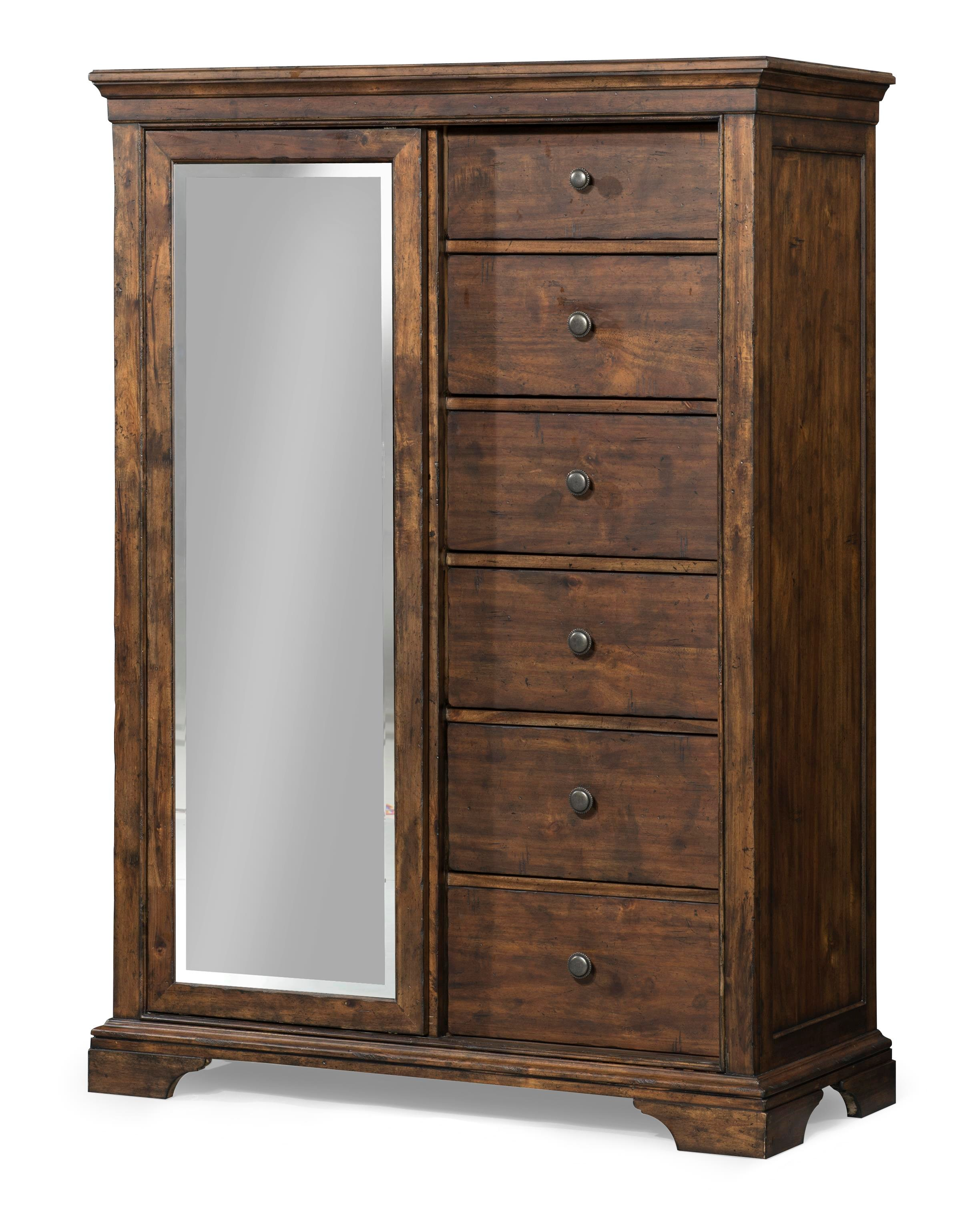 ... By Klaussner Trisha Yearwood Home Tulsa Sliding Door Chest With Mirror Old  Brick Furniture Door Chests With Furniture Stores In Schenectady Ny