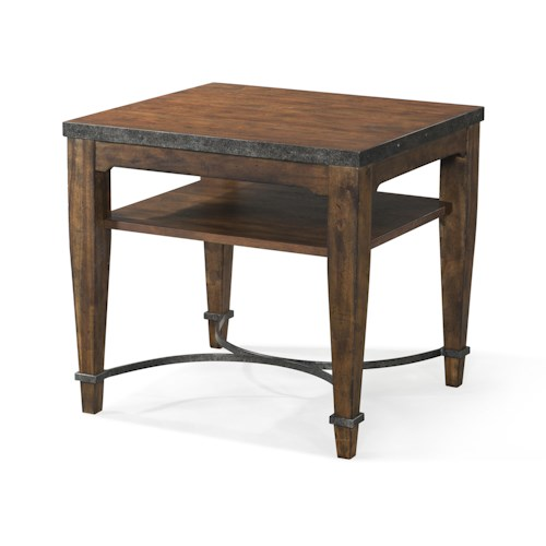 Trisha Yearwood Home Trisha Yearwood Home Ginkgo Lamp Table with Shelf