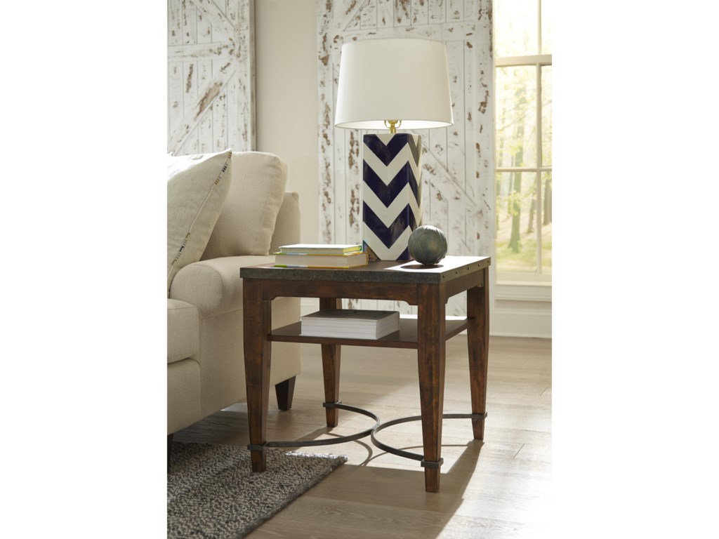 Trisha Yearwood Home Collection by Klaussner Trisha Yearwood HomeGinkgo Lamp Table