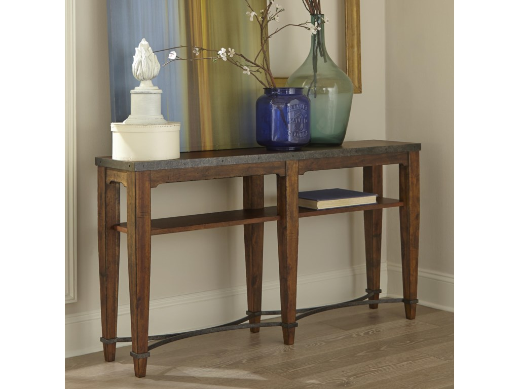 Trisha Yearwood Home Collection by Klaussner Trisha Yearwood HomeGinkgo Sofa Table