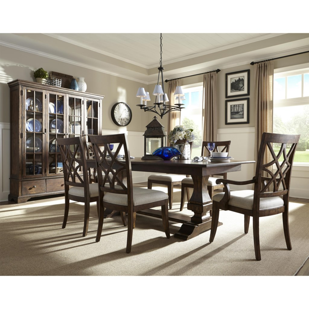 Levin Furniture Dining Room Set With Buffett Tour