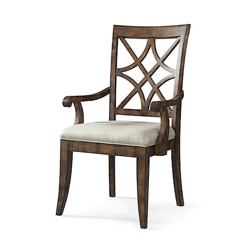 Trisha Yearwood Home Trisha Yearwood Home Nashville Arm Chair