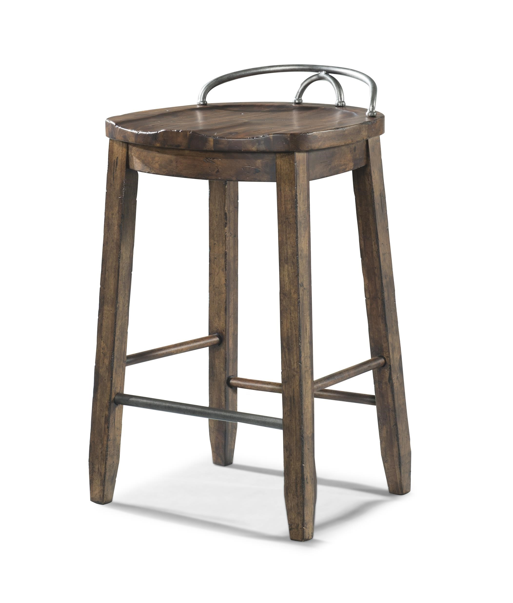 klaussner trisha yearwood home cowboy saddle stool homeworld furniture bar stools - Saddle Stools