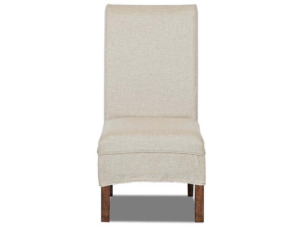 Trisha Yearwood Home Collection by Klaussner Trisha Yearwood HomeParsons Chair with Slipcover