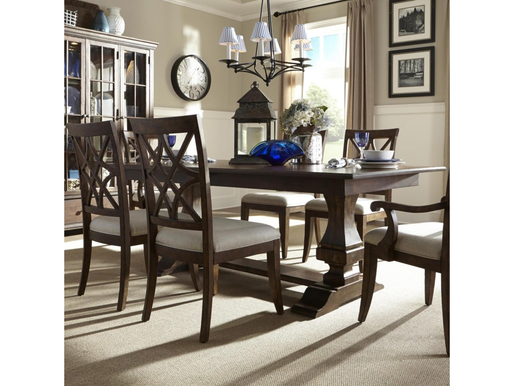 Trisha Yearwood Home 5 Piece Dining Package By Klaussner