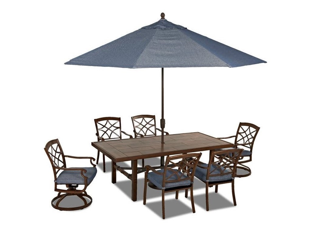 Trisha Yearwood Home Collection by Klaussner Trisha Yearwood Outdoor11FT Auto Tilt Umbrella