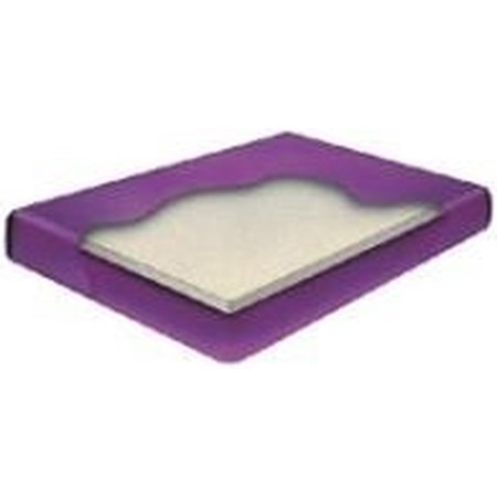 Queen Fiber 4 Semi-waveless Waterbed Mattres