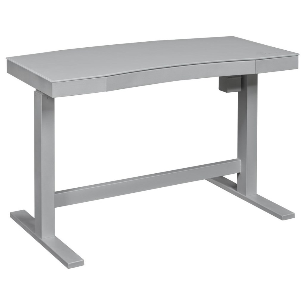 Twin Star Home Ashford Contemporary Adjustable Standing Desk With