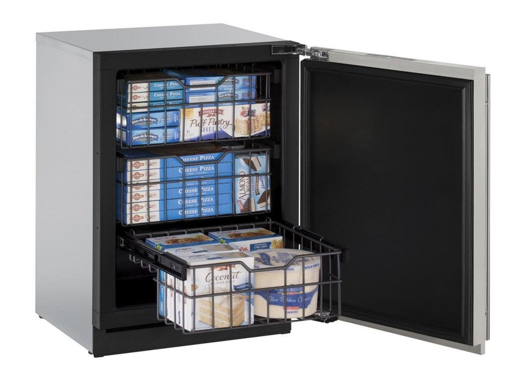 U-Line Freezers4.5 Cu. Ft. Right Hinged Built-In Freezer
