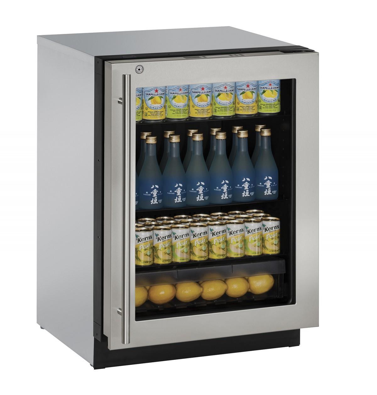 Merveilleux ... Glass Door Compact Refrigerator. U Line Refrigerators24 ...