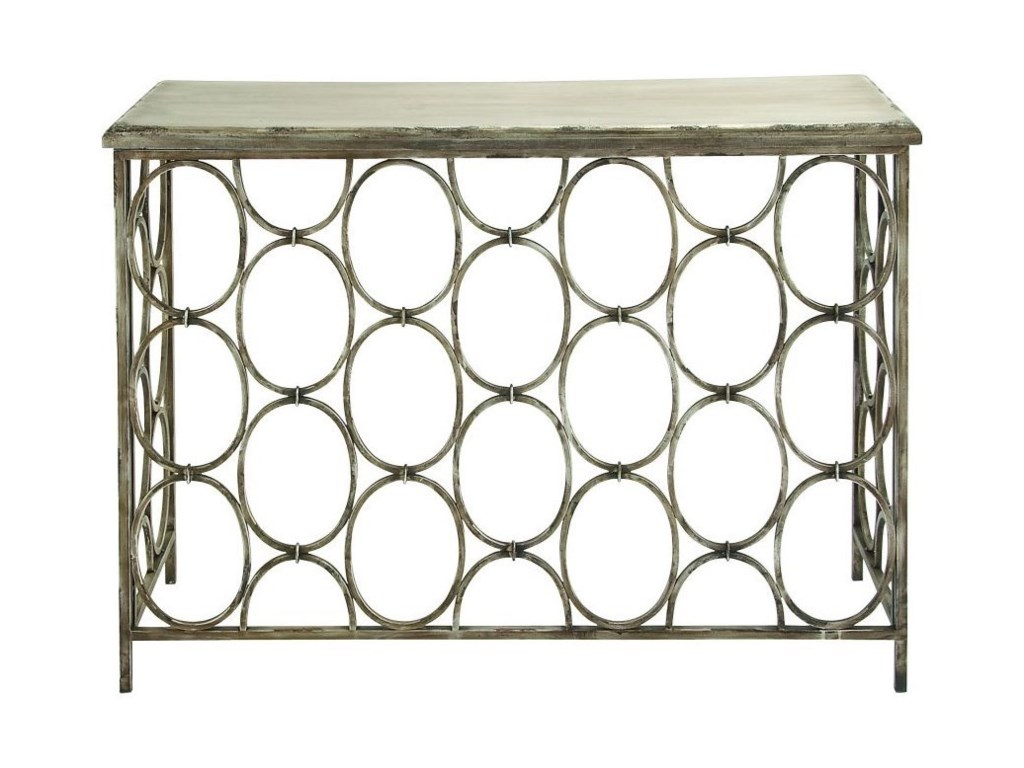 UMA Enterprises, Inc. Accent FurnitureMetal/Wood Console Table