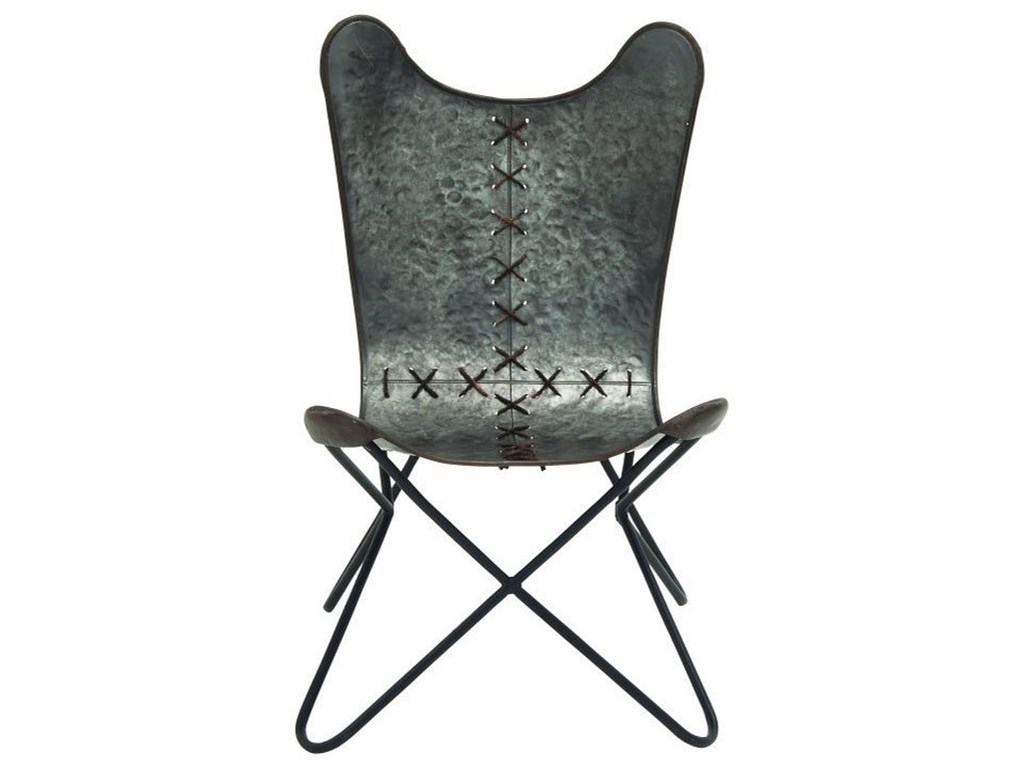 UMA Enterprises, Inc. Accent FurnitureMetal Stitched Chair