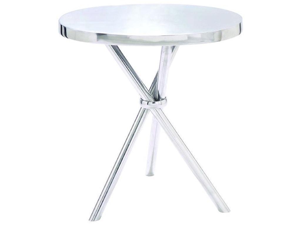 UMA Enterprises, Inc. Accent FurnitureAluminum Accent Table