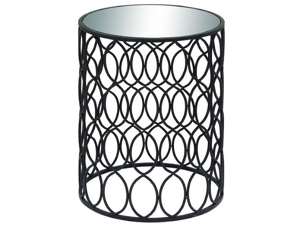 UMA Enterprises, Inc. Accent FurnitureMetal/Mirror Accent Table
