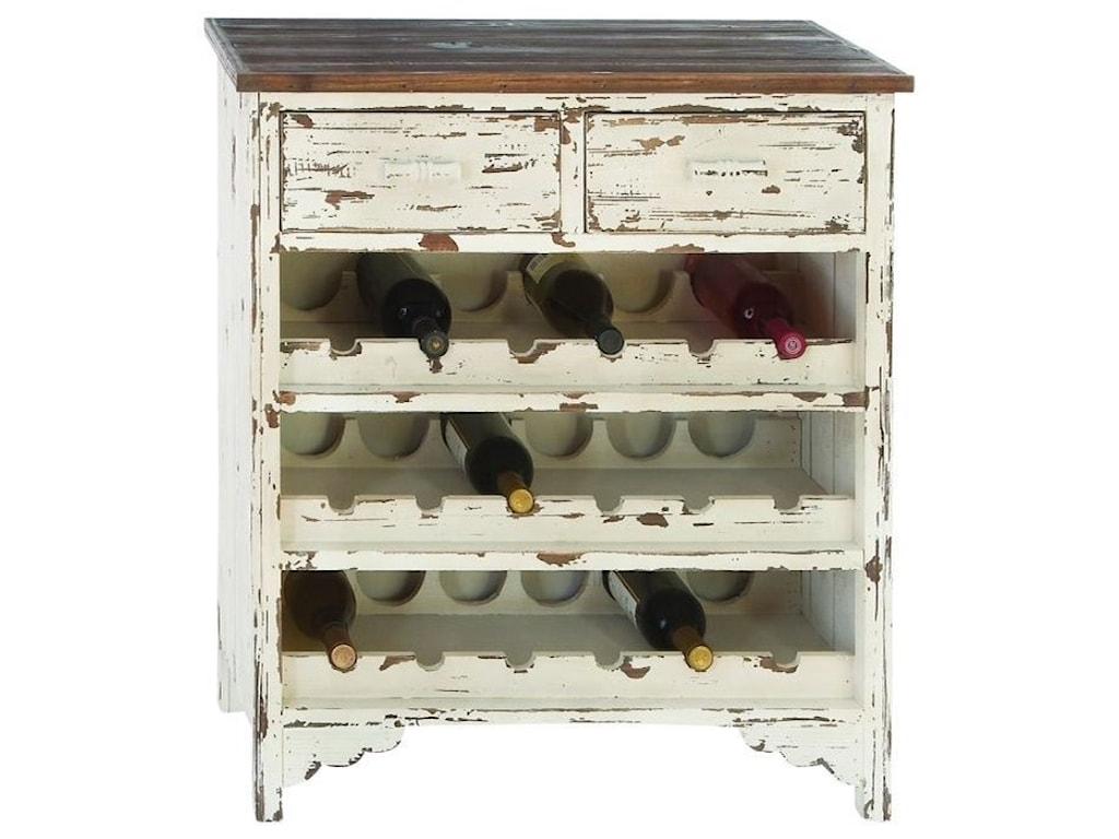 UMA Enterprises, Inc. Accent FurnitureWood Wine Cabinet