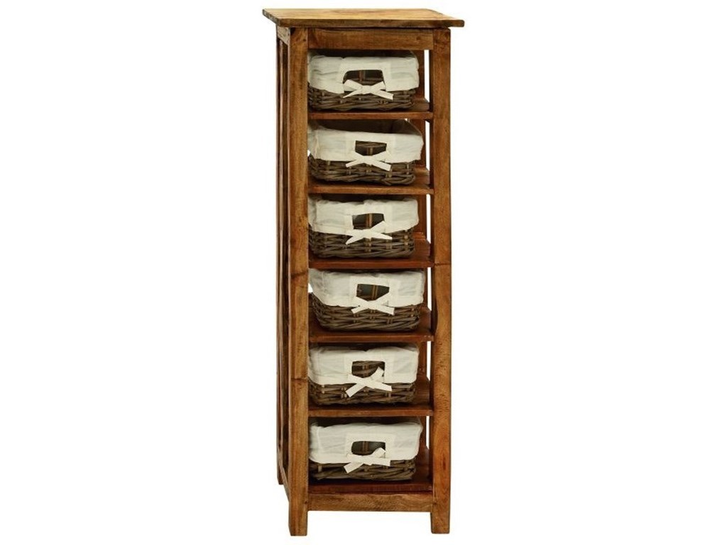 UMA Enterprises, Inc. Accent FurnitureWood Rattan Chest