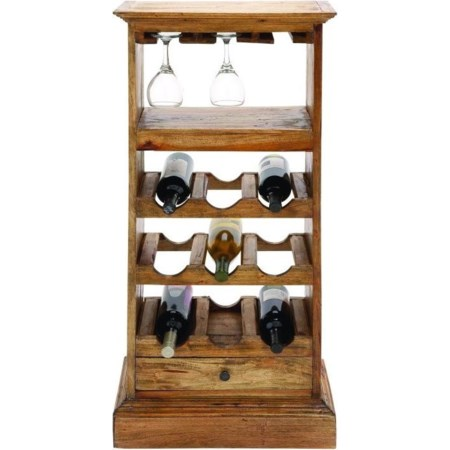 Wood Wine Cabinet