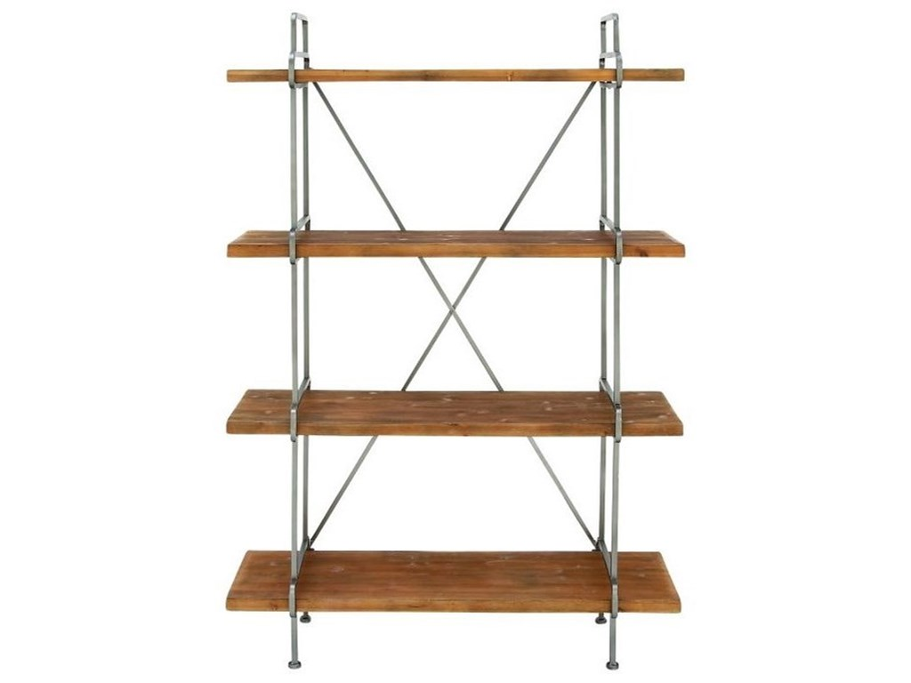 UMA Enterprises, Inc. Accent FurnitureWood/Metal 4-Tier Shelf