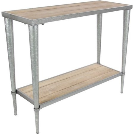 Metal/Wood Console