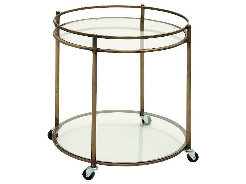 UMA Enterprises, Inc. Accent FurnitureMetal/Glass Bar Cart