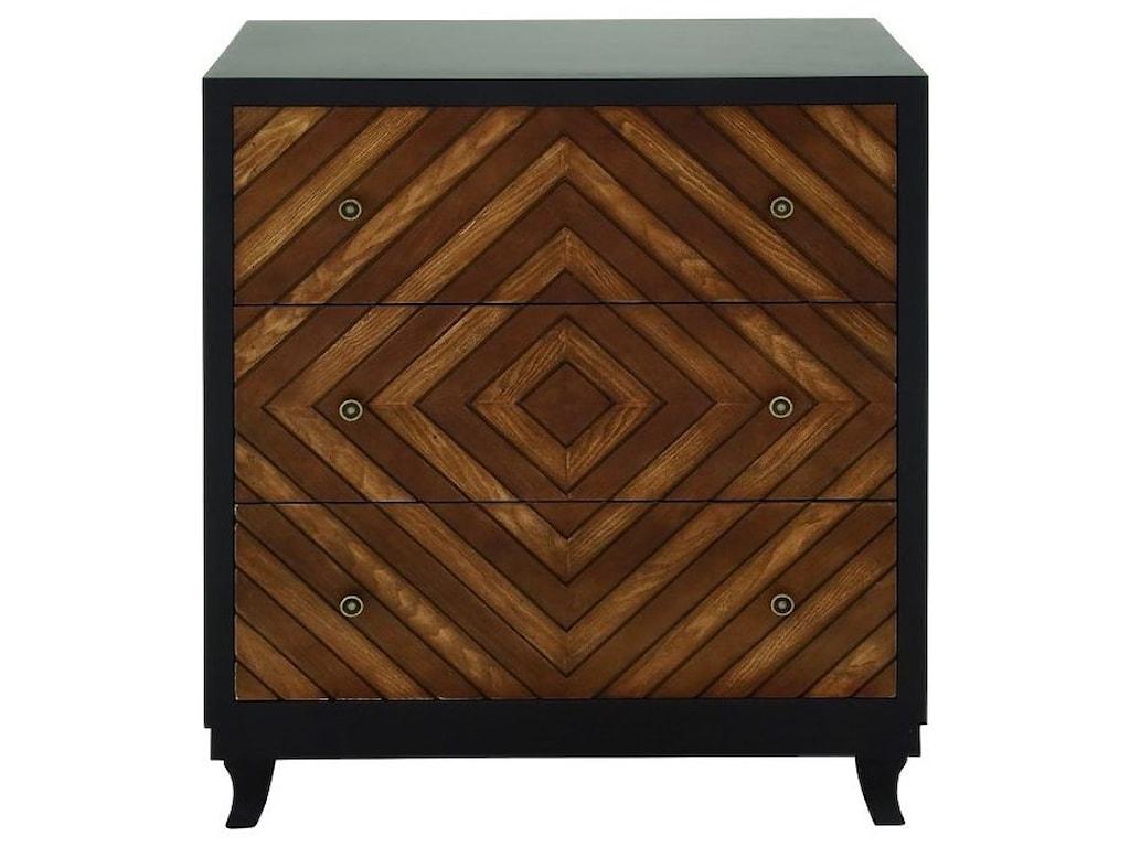 UMA Enterprises, Inc. Accent Furniture3 Drawer Chest