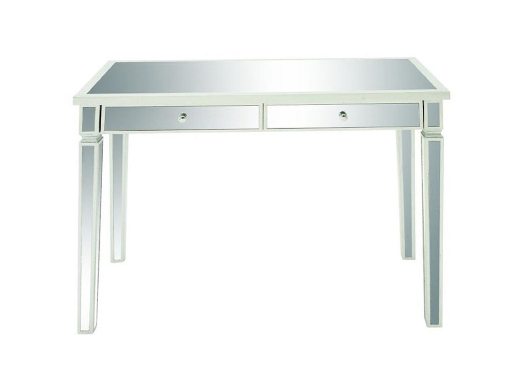 UMA Enterprises, Inc. Accent FurnitureMirror Vanity Desk