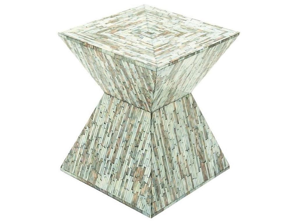 UMA Enterprises, Inc. Accent FurnitureWood Inlay Accent Table