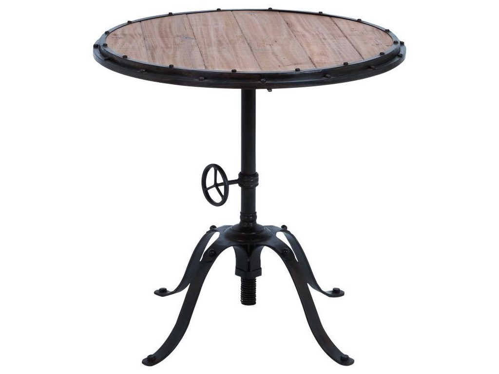UMA Enterprises, Inc. Accent FurnitureMetal/Wood Round Table