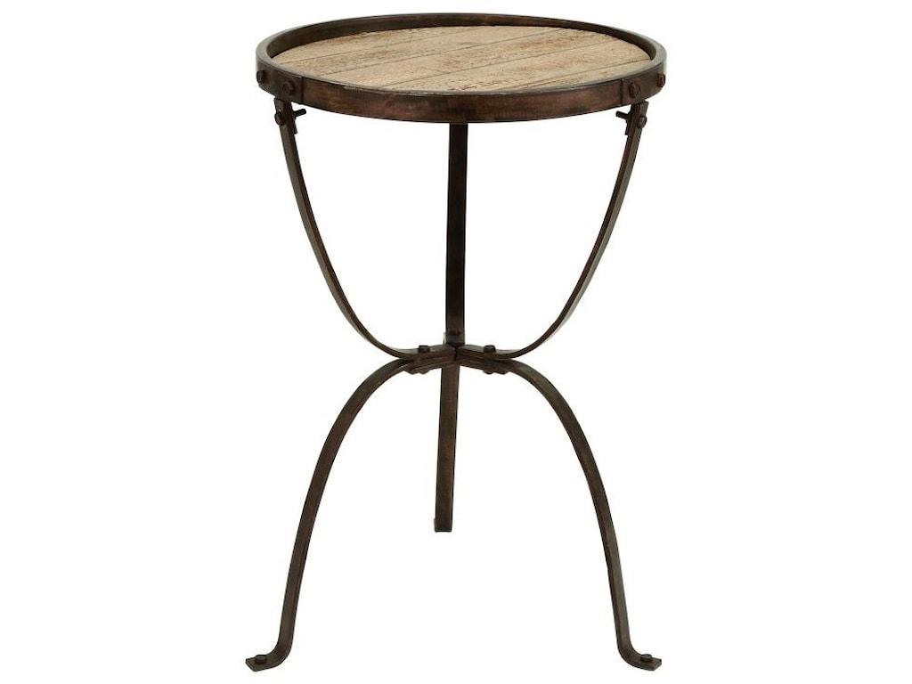 UMA Enterprises, Inc. Accent FurnitureMetal/Wood Accent Table