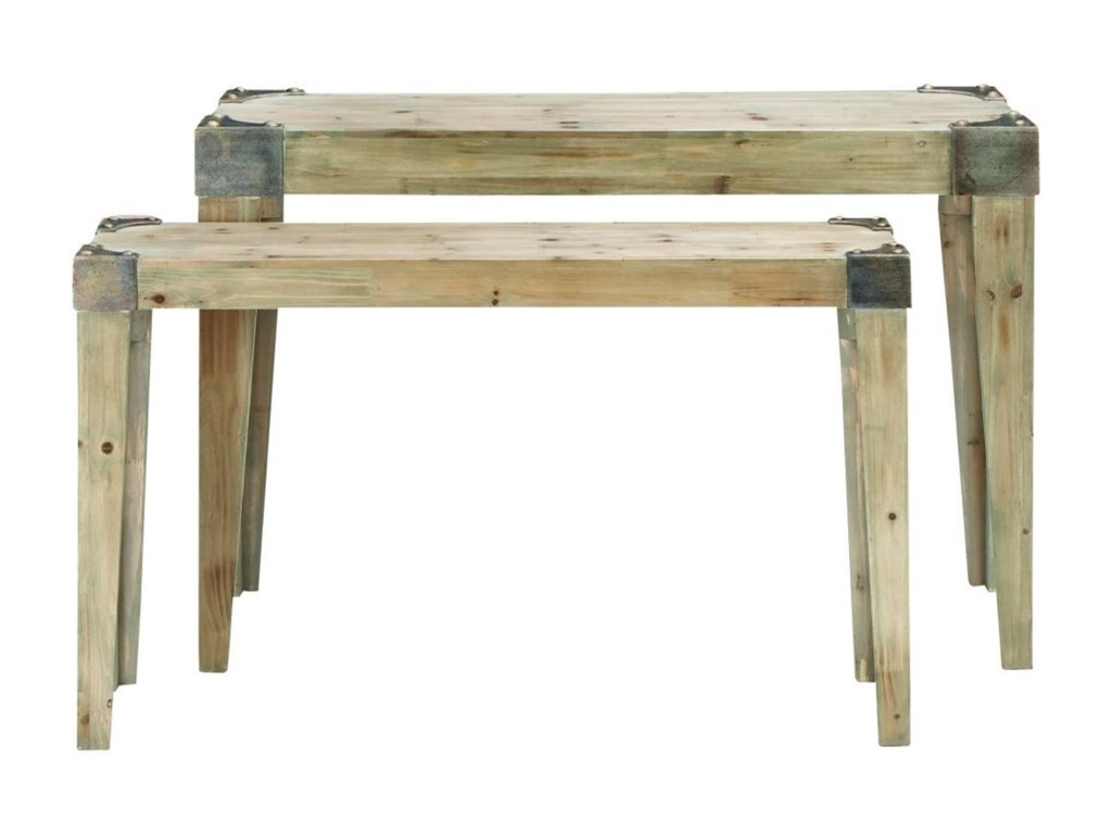 UMA Enterprises, Inc. Accent FurnitureWood Console Tables, Set of 2