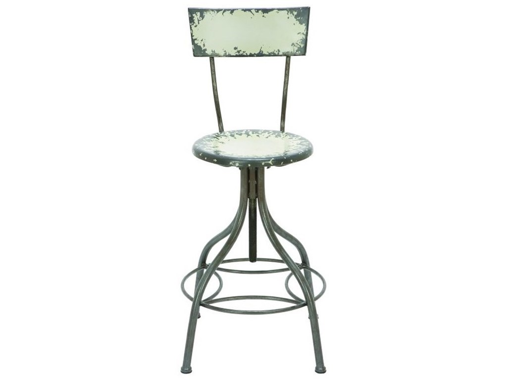UMA Enterprises, Inc. Accent FurnitureMetal Bar Chair
