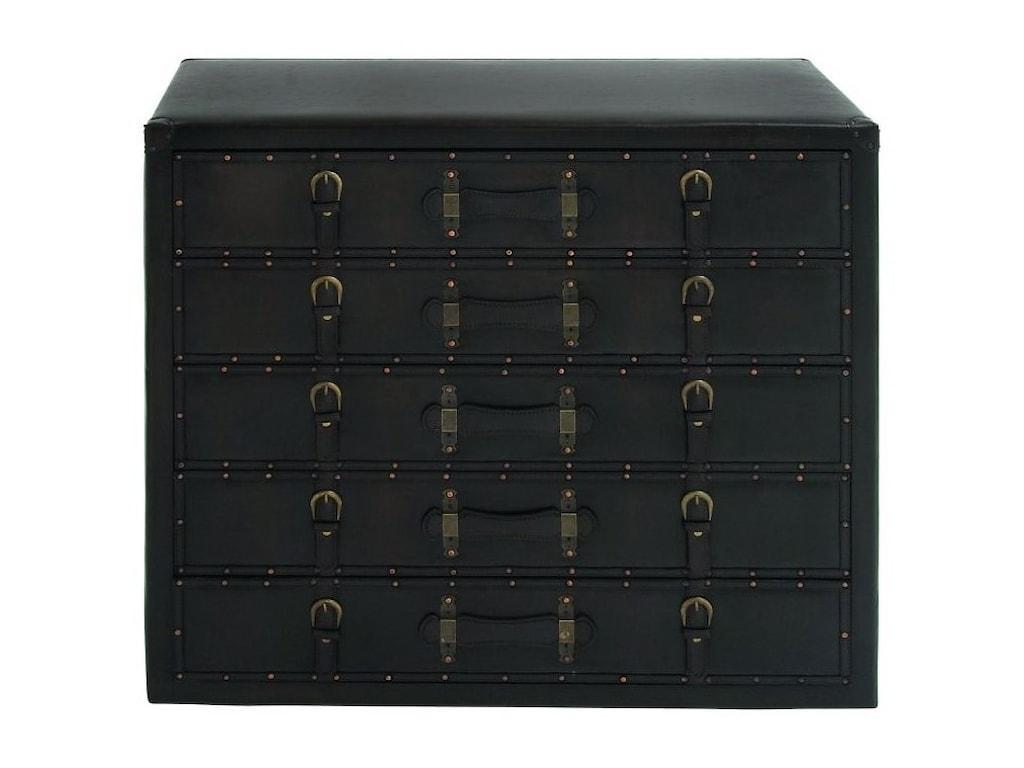 UMA Enterprises, Inc. Accent FurnitureFaux Leather Chest