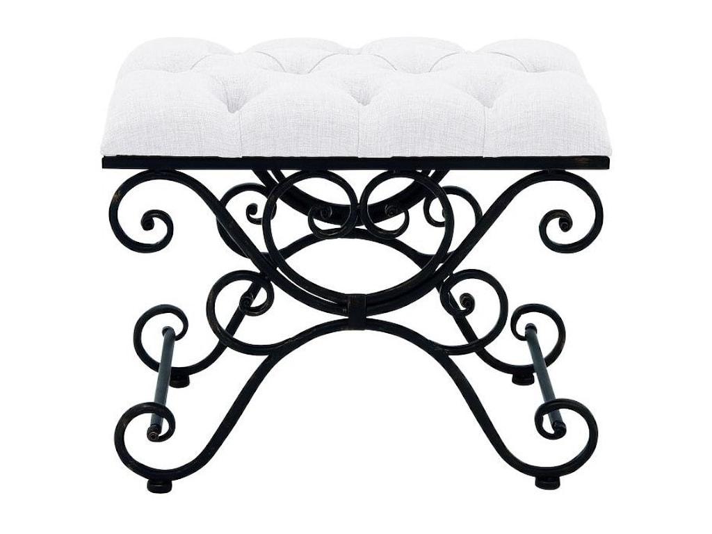 UMA Enterprises, Inc. Accent FurnitureMetal Fabric Stool