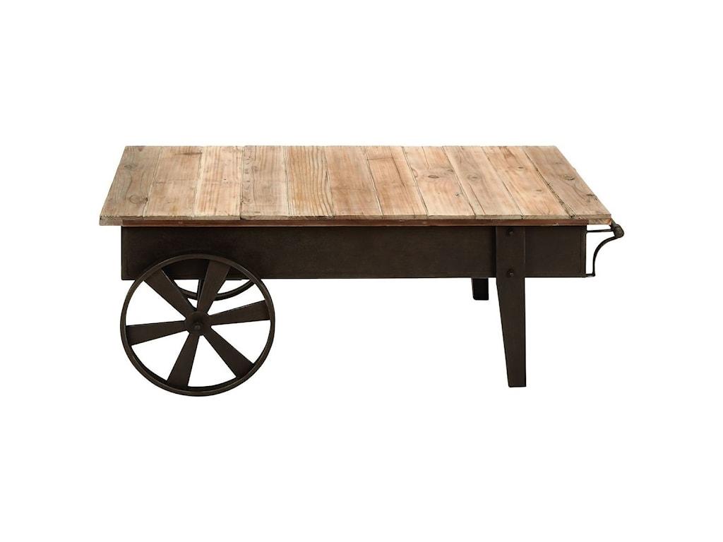 UMA Enterprises, Inc. Accent FurnitureMetal/Wood Coffee Table