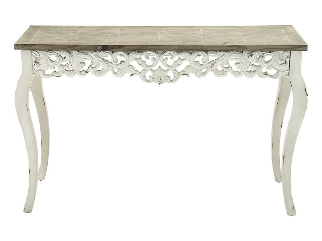 UMA Enterprises, Inc. Accent FurnitureWood Carved Console Table