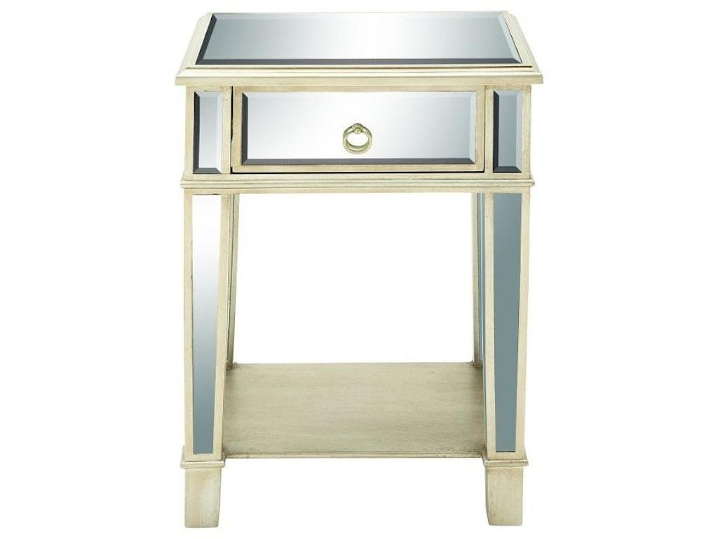 UMA Enterprises, Inc. Accent FurnitureMirror Side Table