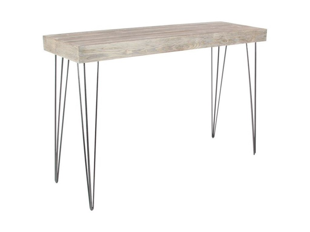 UMA Enterprises, Inc. Accent FurnitureMetal/Wood Console Table