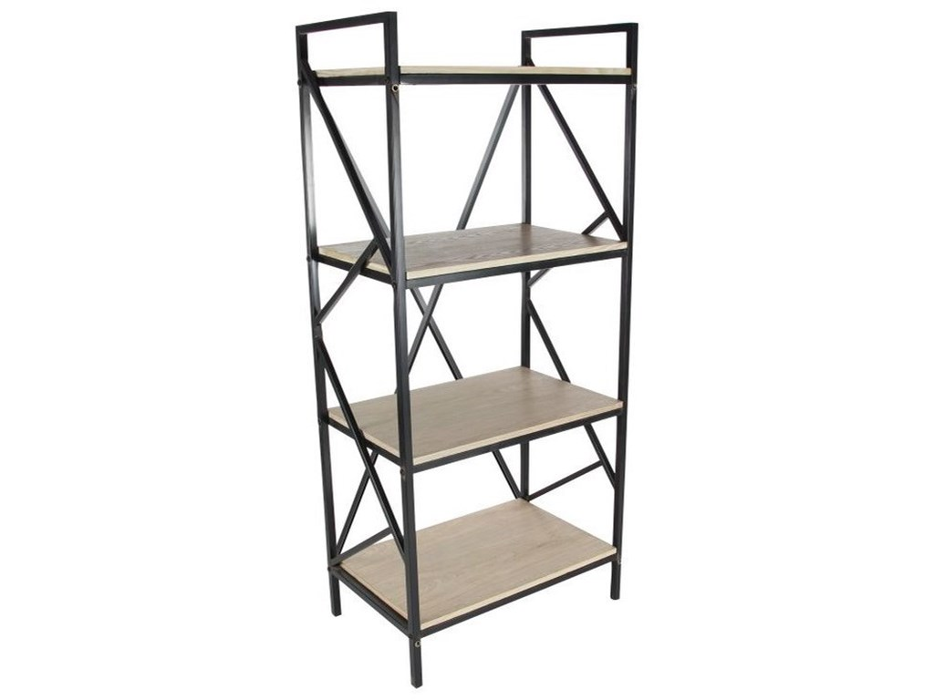 UMA Enterprises, Inc. Accent FurnitureMetal/Wood Shelf