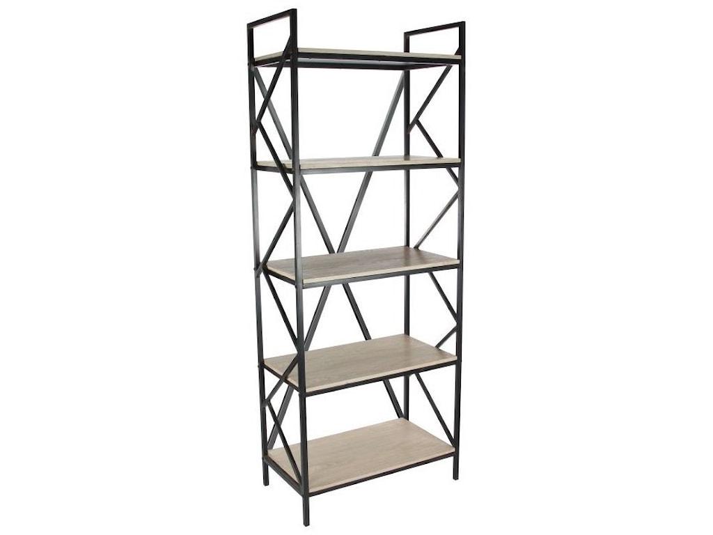 UMA Enterprises, Inc. Accent FurnitureMetal/Wood Shelf